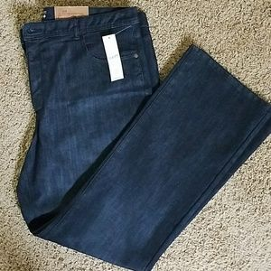 NWT Coldwater Creek Classic Fit Bootcut Jeans